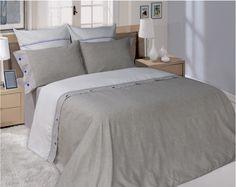 Semi-linen bedding set