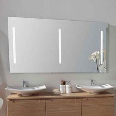 Miroir éclairant LED ou halogène