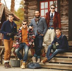 Mens winter fashion inspiration – the wow style Rugged Style, Sharp Dressed Man, Well Dressed Men, Mode Masculine, Men's Grooming, Style Brut, Retro Mode, Oldschool, Cool Style
