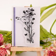 Clear Stamp Flowers & Grass