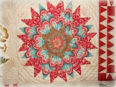Every Stitch: Di Ford block from Morrell quilt made by di Ford
