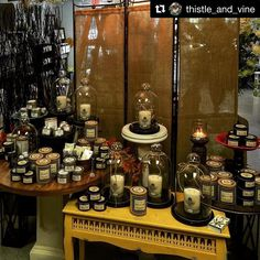 #Repost @thistle_and_vine with @repostapp  When you have to make room for your new @southernfireflycandle Grapefruit Mangosteen. Hand-poured in Nashville Tennessee. We do everything better in the south..