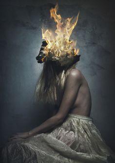 "Saatchi Art Artist: Flora Borsi; Color 2014 Photography ""Nymph's Death"" #art (CJ)"