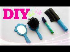 Tutoriel : peigne + brosse + miroir miniatures - YouTube