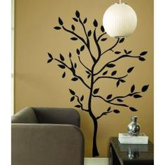 @Overstock - Bold yet sophisticated, these wall decals from RoomMates enable you to create shadows of branches in any configuration. Use as many or as little as you'd like to create an entire tree, or you can opt instead for multiple branches on one or several walls.http://www.overstock.com/Baby/RoomMates-Tree-Branches-Peel-and-Stick-Wall-Decals/6682397/product.html?CID=214117 $23.99