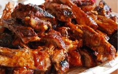 Asian Sticky Slow Cooker Ribs | AllFreeSlowCookerRecipes.com