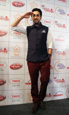 Giving off the Indian vibe, Ayushman Khurana