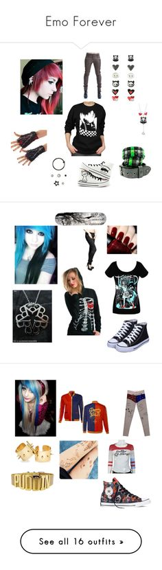 """""""Emo Forever"""" by alexemoforever on Polyvore featuring OPI, Criminal Damage, Converse, M. Cohen, Topshop, men's fashion, menswear, FUNimation, M.i.h Jeans and Chicas Fashion"""