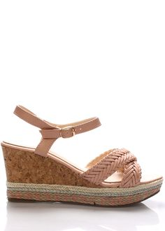 Letní sandály na korkové platformě Monshoe(101350) - 1 Espadrilles, Shoes, Fashion, Espadrilles Outfit, Moda, Zapatos, Shoes Outlet, Fashion Styles, Shoe