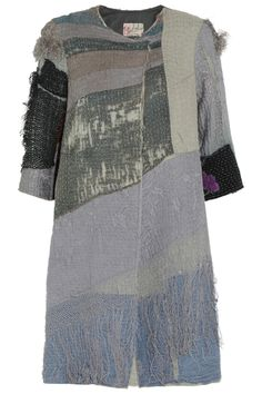 By Walid | Embroidered textured-cotton coat | NET-A-PORTER.COM