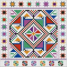 Grand Sewing Embroidery Designs At Home Ideas. Beauteous Finished Sewing Embroidery Designs At Home Ideas. Cross Stitch Borders, Cross Stitching, Cross Stitch Patterns, Learn Embroidery, Cross Stitch Embroidery, Embroidery Patterns, Learning To Embroider, Mandala, Tapestry Crochet