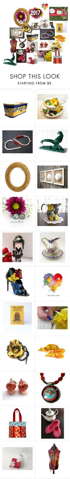 """Etsy Gift Guide for 2017"" by anna-recycle ❤ liked on Polyvore featuring modern, rustic and vintage"