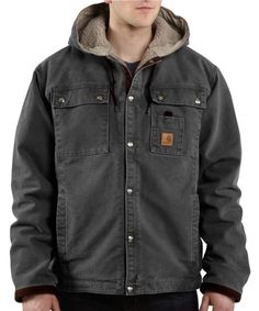 SHERPA LINED HOODED MULTI-POCKET JACKET | Mark's.com | Online Shopping for Casual Clothing, Footwear and More