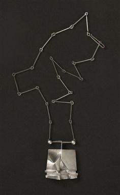 Hand-Crafted Studio Necklace, circa 1970, Lapponia von Björn Weckström