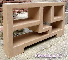 1000 images about kartonov n bytek on pinterest. Black Bedroom Furniture Sets. Home Design Ideas