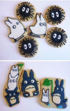 Totoro Cookies, studio ghibli food