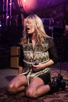 Grace Potter and The Nocturnals @ Stubb's - 11/08/2012 Photo by Tim Griffin @griffinshot