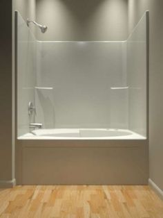 Tub And Shower   One Piece