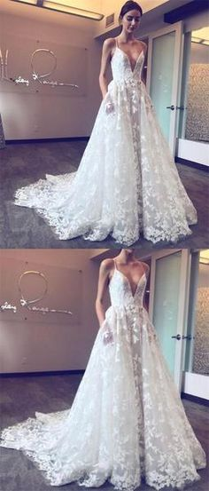 2017 Spaghetti Straps Lace Appliques Sexy Pretty Fashion New Prom Dress, PD0378