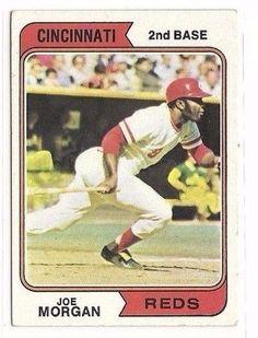 1974 TOPPS BASEBALL CINCINNATI REDS JOE MORGAN   eBay