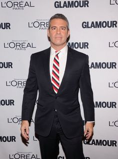 Andy Cohen l2 famous people with lazy eye