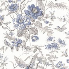 Elizabeth Teal Wildflower Trail Brewster Wallpaper Wallpaper Brewster Taupes Teal Whites Birds Wallpaper Botanical Wallpaper Floral & Plant Trail Wallpaper Floral & Plants Wallpaper , Easy to clean , Easy to wash, Easy to strip Plant Wallpaper, Botanical Wallpaper, Home Wallpaper, Wallpaper Roll, Pattern Wallpaper, Aqua Wallpaper, French Wallpaper, Wallpaper Direct, French Country Bedrooms