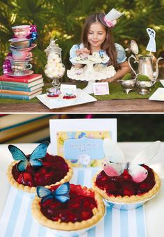 Stylish {Alice In Wonderland} Mad Hatter Tea Party • Styling: Two Prince Bakery Theater  •  Photography: Susie Metzler Photography