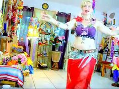 Tribal Fusion Belly Dance -  Take a piece of my sweet heart I am sharing some of my sweetness :-) be sweet too and subscribe to my world ;=)