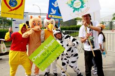 Demonstration outside Riocentro by United Nations Information Centres, via Flickr