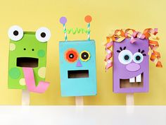 DIY kids puppets to die for!