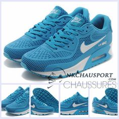 sports shoes 4eccc 03358 Nike Air Max 90 2016   Meilleur Chaussures Running Homme Bleu Marine-5