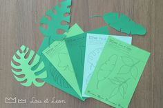 Dinosaurs Party for kids! Make your own paper garland!!! Free download pdf for your BirthdayParty! Visit our website with all our ideas!!!