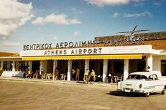 Elliniko International Airport the former Athens airport from around 1930 until it was closed in March 2001 Attica Athens, My Athens, Athens City, Athens Greece, Attica Greece, Old Pictures, Old Photos, Olympic Airlines, Kai