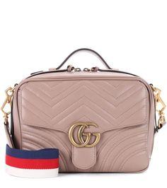 5d76e863332 GUCCI GG Marmont matelassé leather shoulder bag.  gucci  bags  shoulder  bags  hand bags  suede  lining