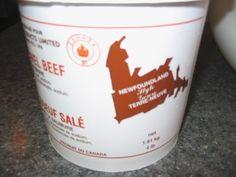 Newfoundland salt beef