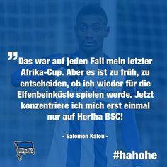 Salomon Kalou ist zurück in Berlin und on fire  #thisboyisonfire #welcomeback #hahohe