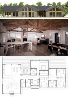 Modern Farmhouse Plan