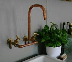 Basic copper tap