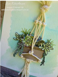 With a bow on top: Stampin' Up! OnStage 2016 display board - Oh so succulent