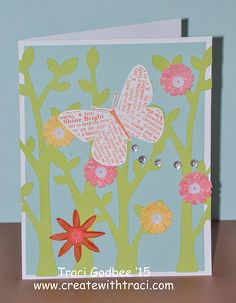 Create with Traci: August card kit by mail