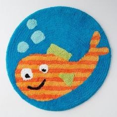 Underwater Creatures 24 Inch 100% Cotton ~ Bath Rug | review | Kaboodle