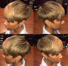 Nice ash blonde pixie by - Black Hair Information My Hairstyle, Wig Hairstyles, Straight Hairstyles, Short Quick Weave Hairstyles, Everyday Hairstyles, Blonde Pixie, Short Straight Hair, Short Hair Cuts, Pixie Cuts