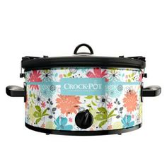 Crockpot - 6 QT, Black (Cook and Carry) > Non-Custom Designs > Crock-Pot Slow Cookers