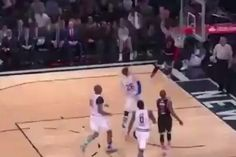 Russell Westbrook  has been a human highlight reel at the 2015 NBA All-Star Game, and this third-quarter alley-oop put an exclamation point on his big night...