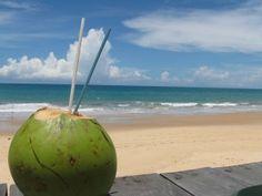 Coconut water - Agua de coco - Brazilian drink