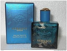 Versace Eros by versace 0.17 oz (5 ml) EDT Splash Men Mini NEW IN BOX