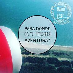 """""""Nada mejor que comenzar un nuevo rumbo, para donde es tu nuevo viaje? . Recuerda dar """"LIKE"""" y """"SEGUIR"""" a mi cuenta. . -.- Sígueme en: Instagram: @mariodesde  Twitter: mario_desde Facebook: mariodesde Visita mi blog de viajes: www.mariodesde.com -.- . #mariodesde #blogdeviajes #explorar #travelblogger #trip #wanderlust #travel #traveling #travelling #viajar #viajero #viajeros #turismo #vacaciones #mochilero #mochileros #lifestyle #estilodevida #motivacion #frasesmotivadoras…"""