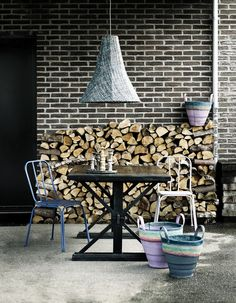 Firewood Scandinavian Style