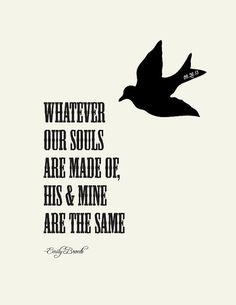 21 Wuthering Heights Quotes, Dark Love Drama by Emily Bronte Love Quotes For Him, Cute Quotes, Great Quotes, Quotes To Live By, Inspirational Quotes, Bird Quotes, Wuthering Heights Quotes, Height Quotes, Youre My Person