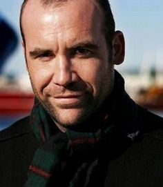 The Hound without his make-up. Actor Rory McCann. I think he's gorgeous!